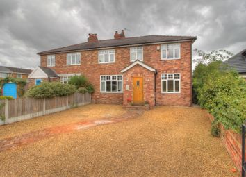 Thumbnail 3 bed semi-detached house for sale in Rushgreen Road, Lymm
