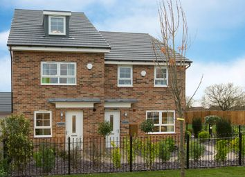 "Thumbnail 4 bed end terrace house for sale in ""Kingsville"" at The Long Shoot, Nuneaton"