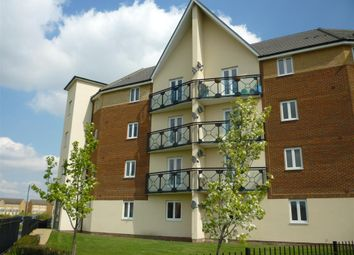 Thumbnail 2 bed flat for sale in Eagle Way, Hampton Centre, Peterborough