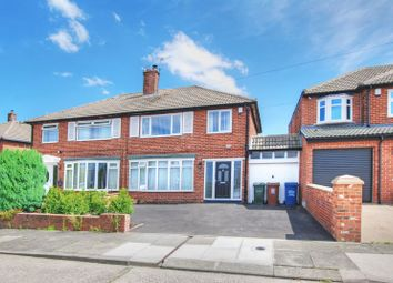 Thumbnail 3 bedroom property for sale in Harbottle Avenue, Gosforth, Newcastle Upon Tyne