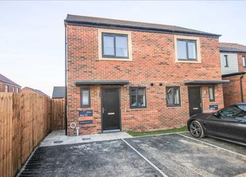 Thumbnail 2 bed semi-detached house to rent in Heckington Close, St Nicholas Manor, Cramlington