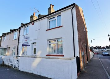 Thumbnail 2 bedroom end terrace house for sale in Church Road, Swanscombe