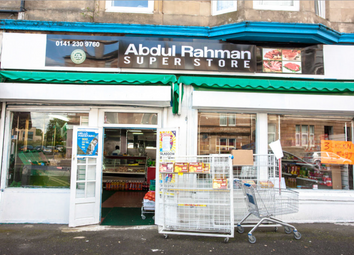Thumbnail Retail premises for sale in Maxwell Road, Glasgow
