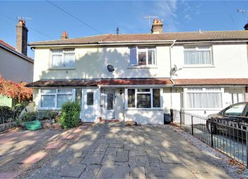 2 bed terraced house for sale in Leigh Road, Broadwater, Worthing, West Sussex BN14