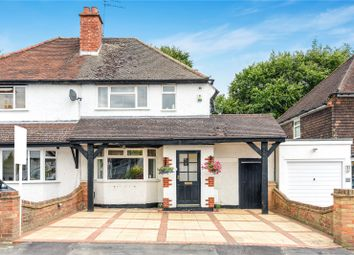 Thumbnail 2 bedroom semi-detached house for sale in Mill Way, Mill End, Hertfordshire