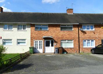 Thumbnail 3 bedroom terraced house to rent in Fordbridge Road, Kingshurst, Birmingham