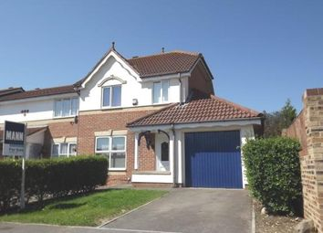 Thumbnail 3 bed semi-detached house for sale in Marlin Close, Gosport