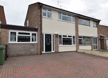 Thumbnail 4 bed semi-detached house for sale in Kilbury Drive, Worcester