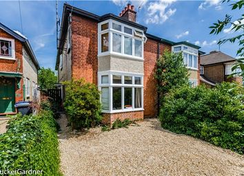 Thumbnail 4 bed semi-detached house for sale in Highworth Avenue, Cambridge