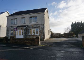 Thumbnail 4 bed detached house for sale in Llannon Road, Upper Tumble, Llanelli