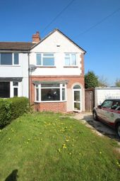 Thumbnail 3 bed semi-detached house to rent in Groveley Lane, Birmingham
