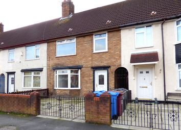 Thumbnail 3 bed terraced house for sale in Cartmel Road, Huyton, Liverpool