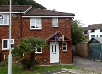 Thumbnail 3 bed semi-detached house to rent in Appleton Tor Close, Crabtree, Marsh Mills, Plymouth
