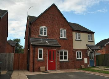 Thumbnail 3 bed semi-detached house to rent in Mill Park, Whitchurch, Shropshire