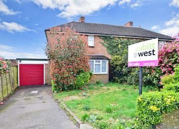 Thumbnail 2 bed semi-detached house for sale in Manor End, Uckfield, East Sussex