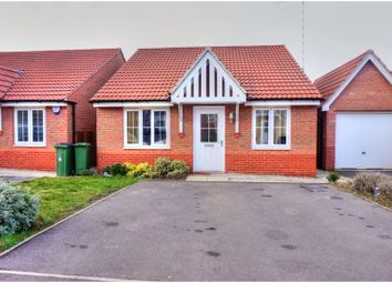 Thumbnail 2 bed detached bungalow for sale in Rowan Road, Glenfield