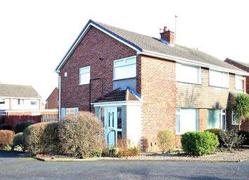 Thumbnail 3 bed semi-detached house for sale in Cleadon Avenue, Billingham