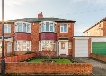 Thumbnail 3 bed semi-detached house for sale in Langley Road, East Denton, Newcastle Upon Tyne