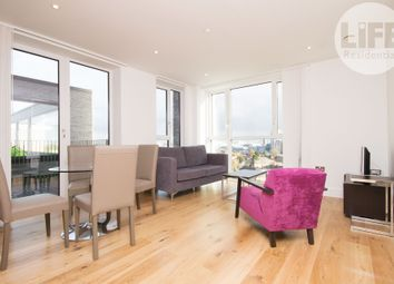 Thumbnail 1 bed flat to rent in Sovereign Tower, 1 Emily Street, London