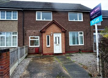 Thumbnail 3 bed terraced house to rent in Lostock Road, Handforth