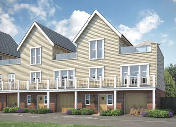 Thumbnail 3 bed town house for sale in Beaulieu Heath, Centenary Way, Off White Hart Lane, Chelmsford, Essex