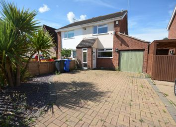 Thumbnail 3 bed semi-detached house for sale in Kevington Drive, Lowestoft