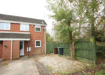 Thumbnail 1 bed end terrace house for sale in Severn Close, Biddulph, Stoke-On-Trent
