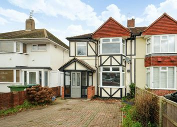Thumbnail 4 bedroom semi-detached house to rent in Heathcroft Avenue, Sunbury On Thames