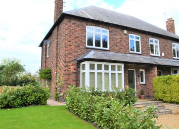 Thumbnail 4 bedroom semi-detached house for sale in Kneeton Road, East Bridgford, Nottingham