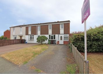 Thumbnail 3 bedroom end terrace house for sale in Wentworth Road, Wolverhampton
