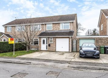 Thumbnail 4 bed semi-detached house for sale in Balfour Cresent, Newbury