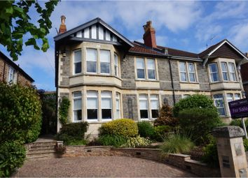 Thumbnail 5 bed semi-detached house for sale in Beach Road East, Portishead