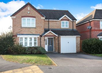 Thumbnail 4 bed detached house for sale in Lisbon Way, Coombe Fields, Coventry