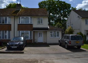 Thumbnail 3 bed semi-detached house for sale in Priors Road, Tadley