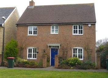Thumbnail 4 bed detached house to rent in Dempsey Walk, Ifield, Crawley