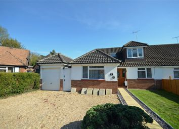 Thumbnail 3 bed semi-detached bungalow for sale in Milden Close, Frimley Green, Surrey