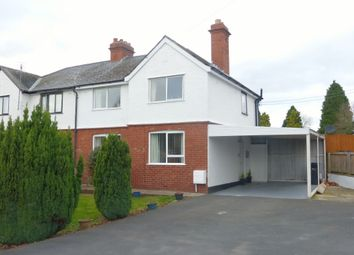 Thumbnail 3 bed semi-detached house for sale in Breinton Avenue, Hereford