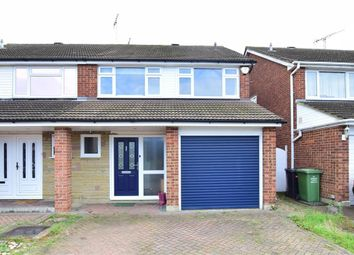 Thumbnail 4 bed semi-detached house for sale in Ozonia Way, Wickford, Essex