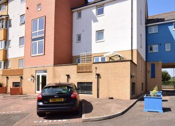 Thumbnail 2 bed flat for sale in Phalarope Way, St. Marys Island, Chatham, Kent