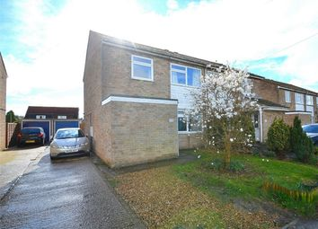Thumbnail 3 bedroom semi-detached house for sale in Manor Lane, Alconbury, Huntingdon, Cambridgeshire