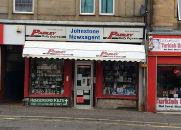 Thumbnail Retail premises for sale in High Street, Johnstone