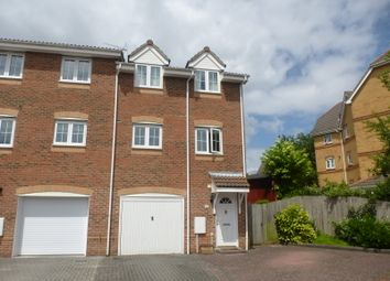 Thumbnail 3 bed end terrace house for sale in Badgers Copse, Park Gate, Southampton