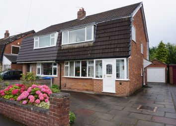 Thumbnail 3 bed semi-detached house for sale in Fairbourne Drive, Timperley