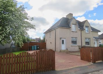 Thumbnail 2 bed semi-detached house for sale in Thankerton Avenue, Motherwell