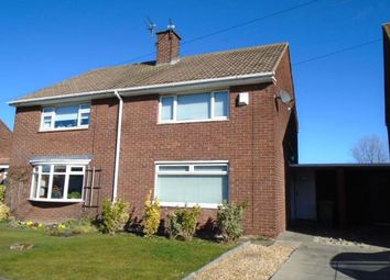 Thumbnail 2 bed semi-detached house to rent in Hortondale Grove, Blyth