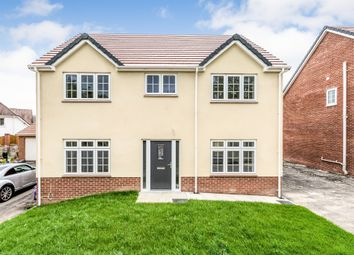 Thumbnail 4 bed detached house for sale in Philip Avenue, Pen-Y-Fai, Bridgend