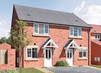 """Thumbnail 2 bed semi-detached house for sale in """"The Hardwick A"""" at Douglas Crescent, Auckland Park, Bishop Auckland"""