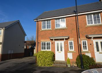 Thumbnail 2 bed end terrace house for sale in Cresscombe Close, Gillingham