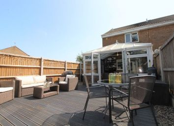 Thumbnail 2 bed terraced house for sale in Wight Drive, Caister-On-Sea, Great Yarmouth