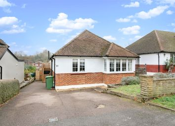 Thumbnail 3 bed detached bungalow to rent in Grosvenor Road, Epsom
